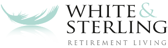 white sterling logo